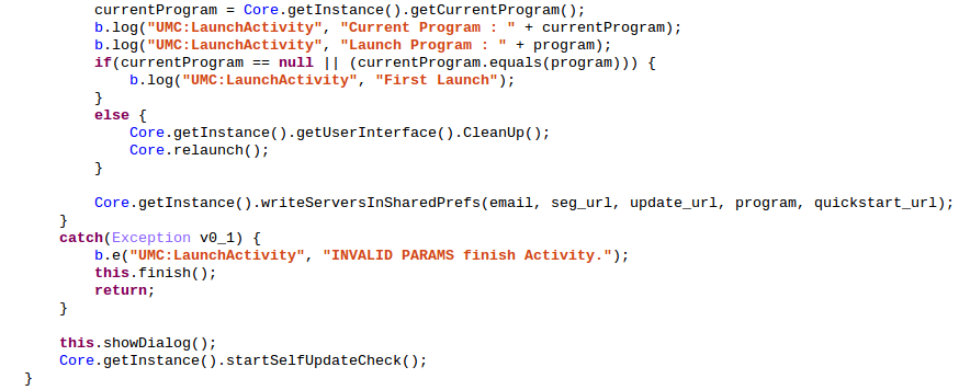 LaunchActivity.onCreate()