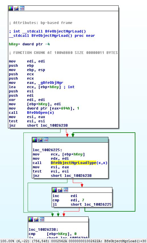 Windows Filtering Platform: Persistent state under the hood
